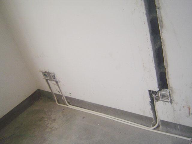 沪光路39弄水电隐蔽工程