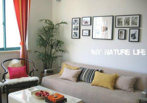 优雅随性纯美小户型 一房装修效果图 高清图片