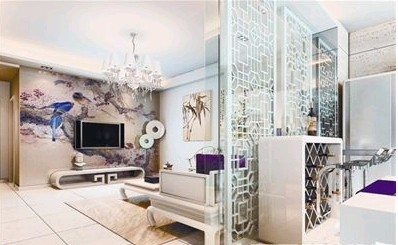 家庭装修之客厅隔断妙计-上海装潢网