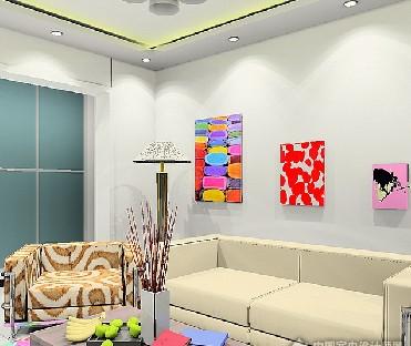 客厅字画的作用-上海装潢网