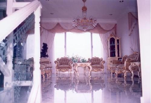 欧式窄窗窗帘