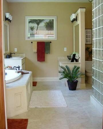 角浴缸装修效果图