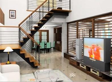 装修学堂 装修设计 装修构造 门窗楼梯 正文  它们是世界楼梯生产的顶
