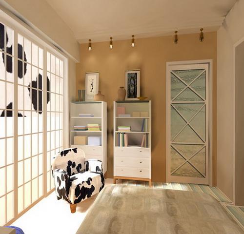 家庭装潢电柜分配接线图