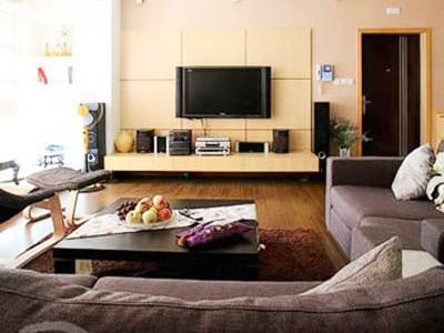 沙发背景墙艺术漆欧式