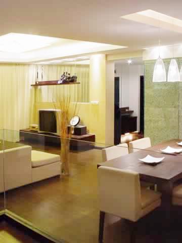 风水宝典:客厅中有梁柱的化解方法