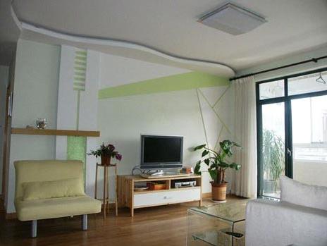 风水:客厅天花板颜色宜轻不宜重!