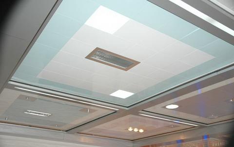 石膏板吊顶     石膏板是目前应用比较广泛的