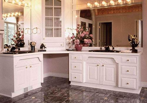 流行豪华欧式厨房实景图流行; 厨房装修效果图; 田园厨房