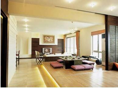 韩式风格客厅装修效果图图片