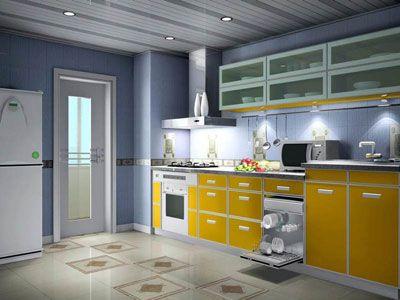 厨房二次装修风水高清图片