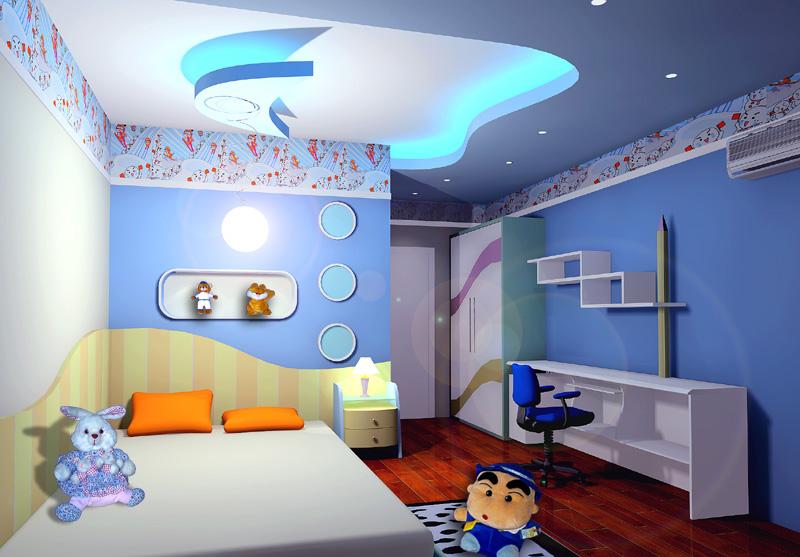 儿童房设计图大全