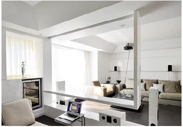 90平白色简约风室内设计