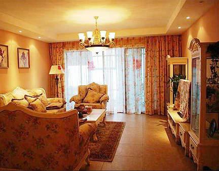 白色家具搭出欧式田园风格温馨家-上海装潢网