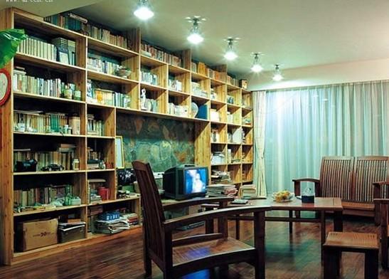 木质书房装修