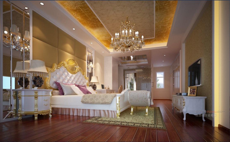 家庭装修欧式主卧室效果图大全