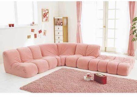 粉色格调海边风景图片