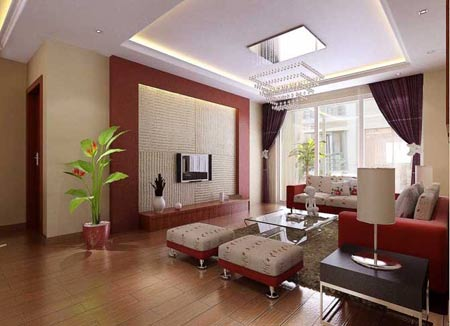 大客厅的空间如何分区