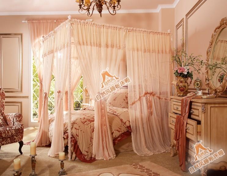浪漫粉色系列欧式风格卧室装修