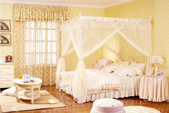 田园风格卧室装修壁纸选择