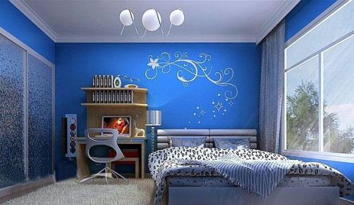 30款蓝色系列儿童房装修效果图