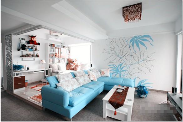 北欧风单身公寓图片
