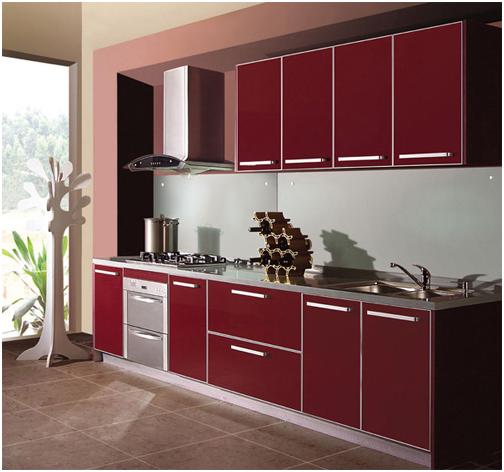 晶钢板_晶钢板厨柜特点-上海装潢网