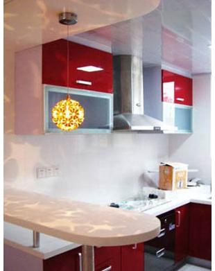 (7)设 水槽的吧台在购买水槽时要注意, 水槽最好是平底
