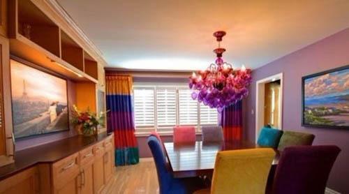 遵循使用习惯与… 客厅地毯搭配季 给凉秋增添丝丝温暖 实木地板与