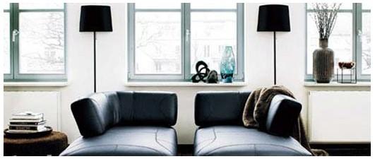 现代简约客厅之沙发布局