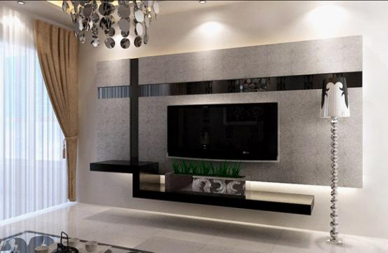 電視背景墻石膏造型