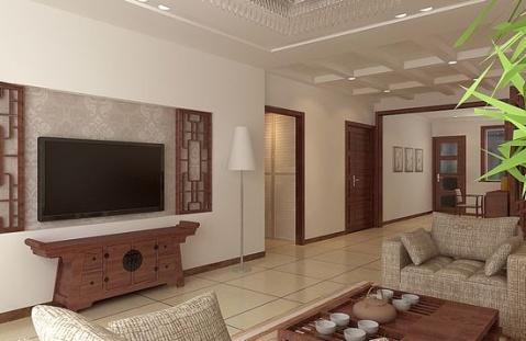大厅墙裙瓷砖效果图
