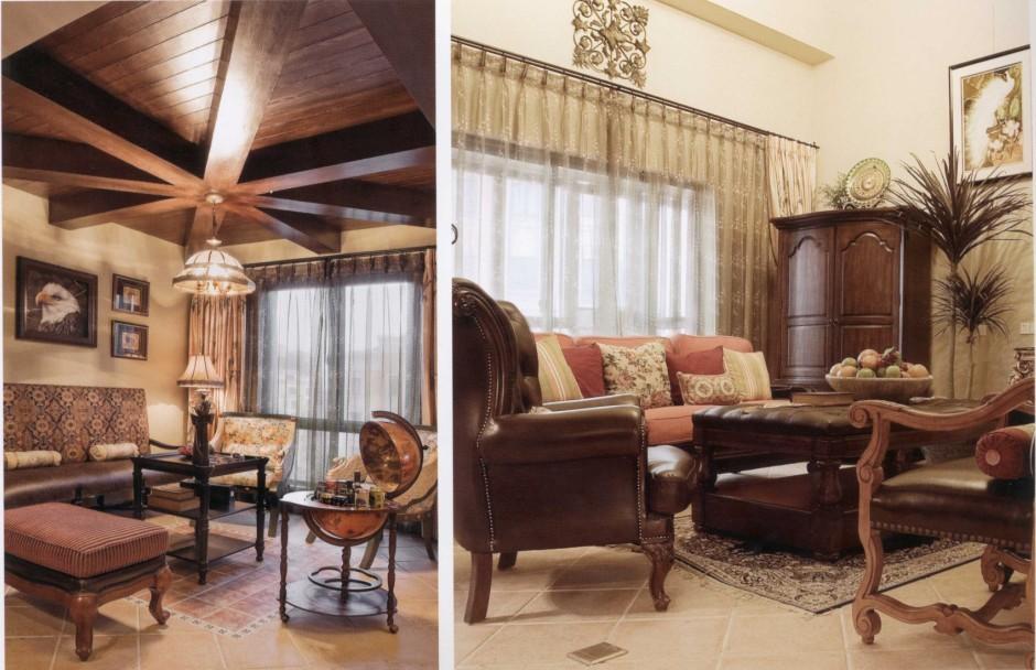 【沈阳宜室宜家装饰装修】两层复式的理想美式家居