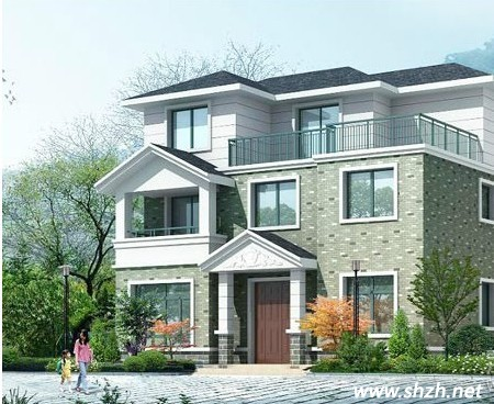 郊区盖房设计大全!三十万以内的别墅,以后盖房不用找设计师哦!图片