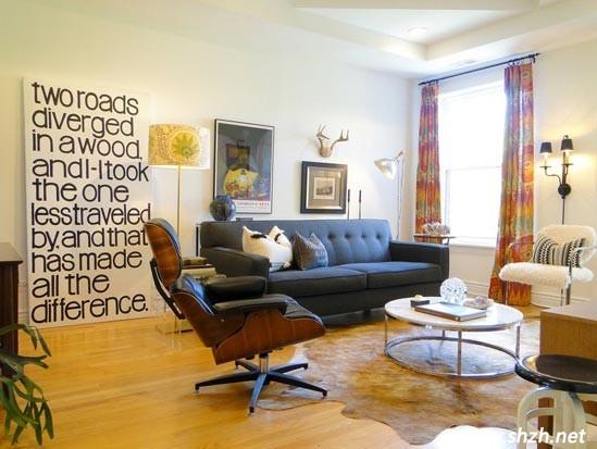 地中海风格单身公寓