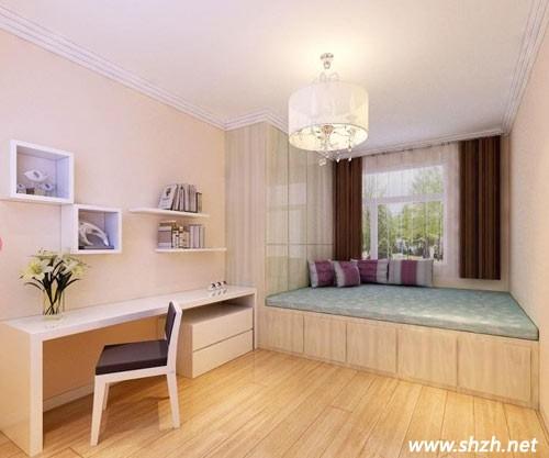 现代风格的小户型卧室设计