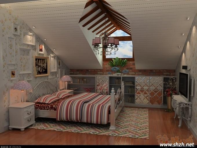 卧室屋顶设计效果图