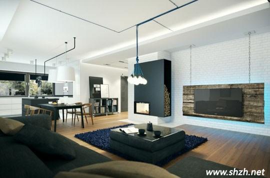 欧式客厅便包沙发背景墙