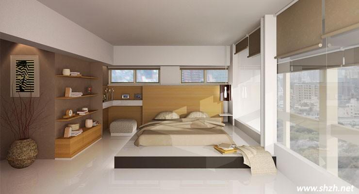 木床卧室现代简约风格
