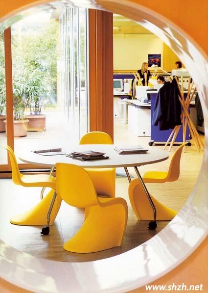 橙色系家居设计