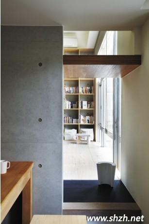 三:除了温暖和风的日式家居,在日本建筑也能经常看到清水膜建材