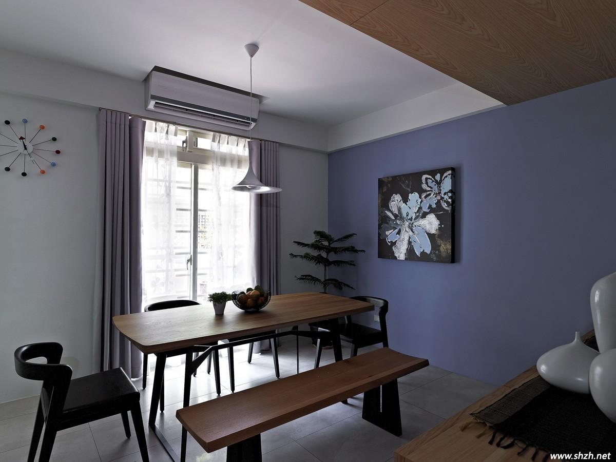 自然惬意的两居室装修