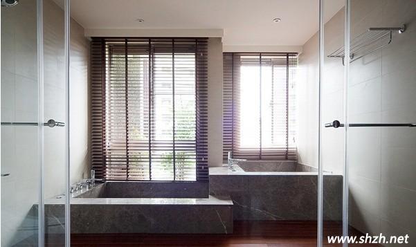 欧式淋浴房放木桶装修效果图