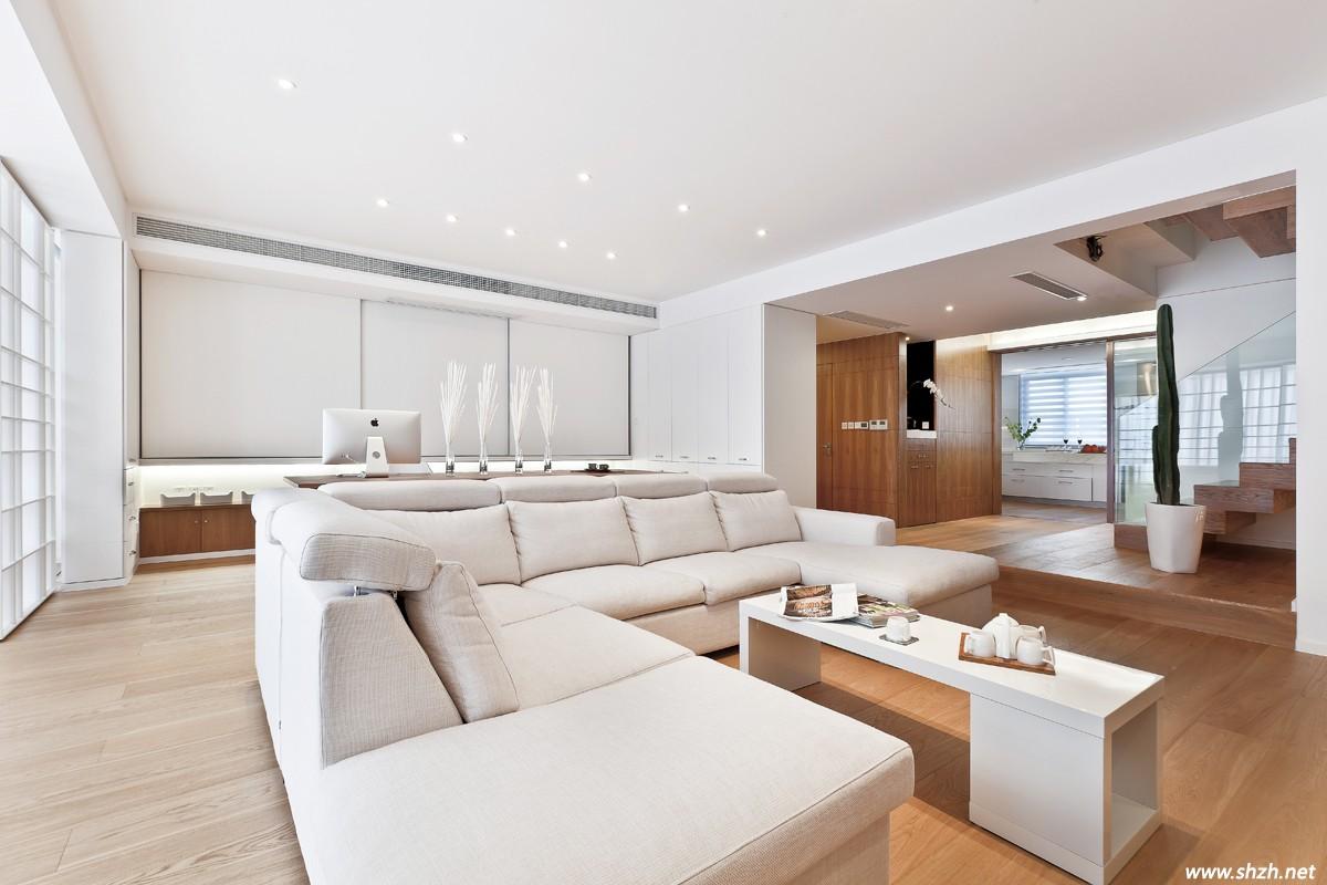 2013年末上海最新设计方案——现代北欧风别墅图片