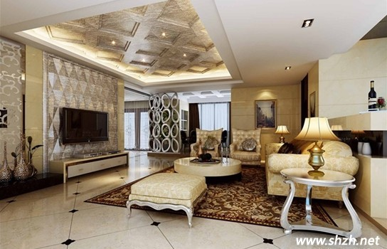别墅装修欧式风情奢华的设计
