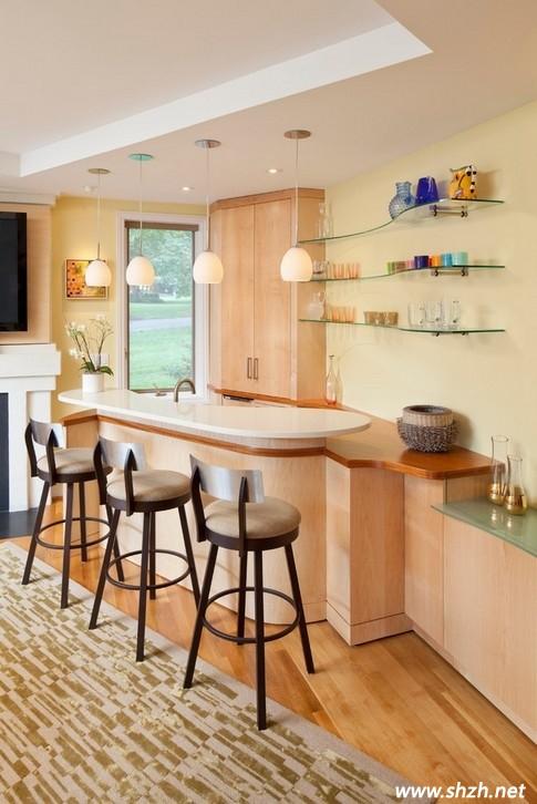 小户型吧台设计 空间合理利用是关键图片