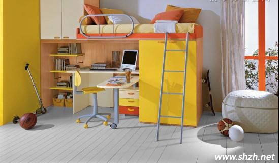 儿童房设计 男孩卧室设计