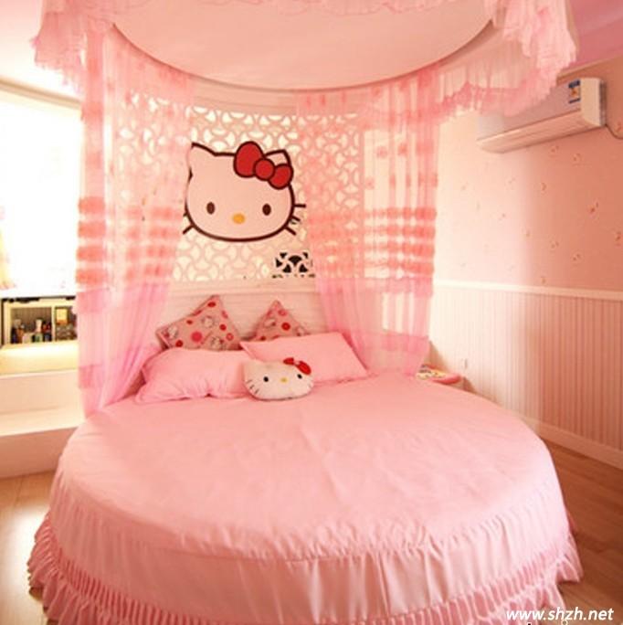 卧室设计 粉色系列图片