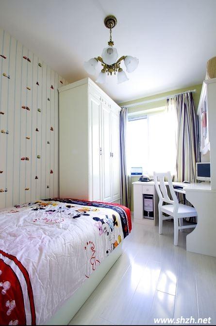 韩式风小户型儿童房装修 现代