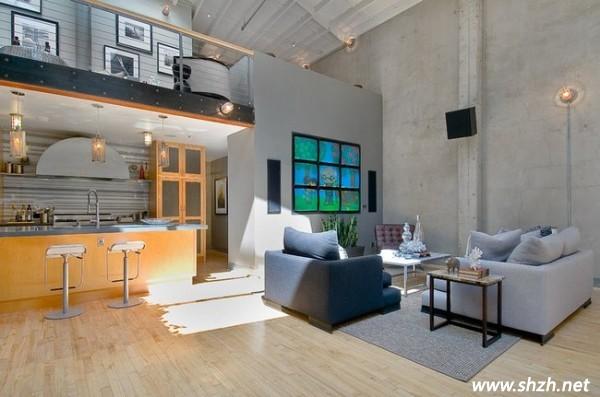 loft厨房